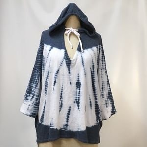 Chaser Tie Dye Hoodie pullover Top Urban Outfitter